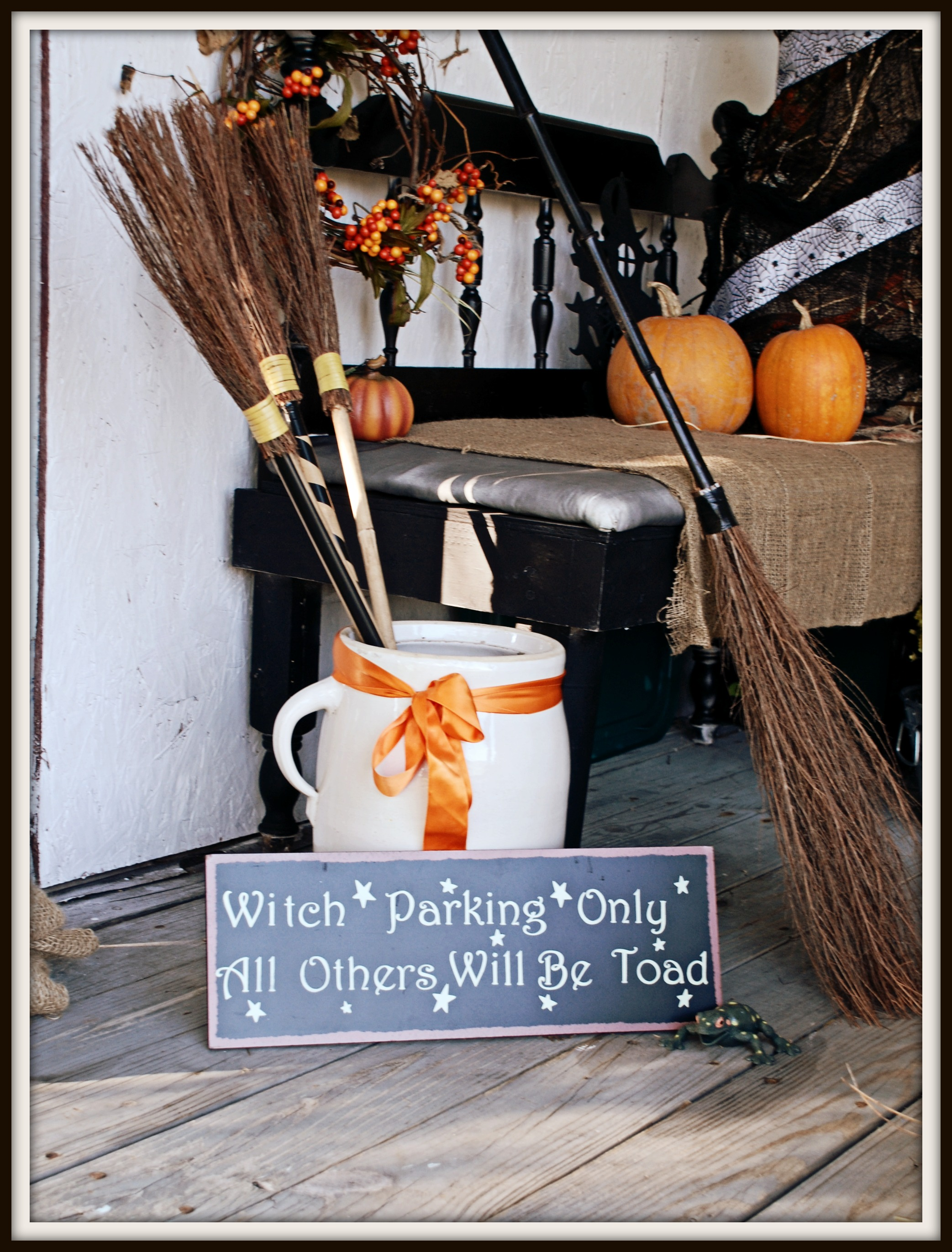 getting ready for halloween: porch ideas ⋆ that one mom