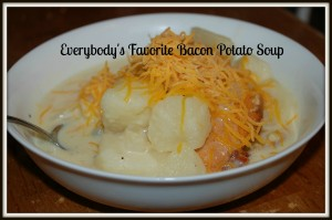 Everybody's Favorite Bacon Potato Soup