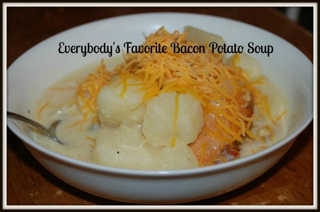 Everybody's Favorite Bacon Potato Soup
