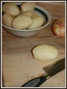 Potato Soup Step 1