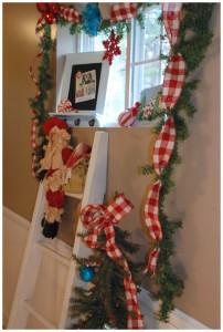 Christmas Home Tour  Hall Window 2