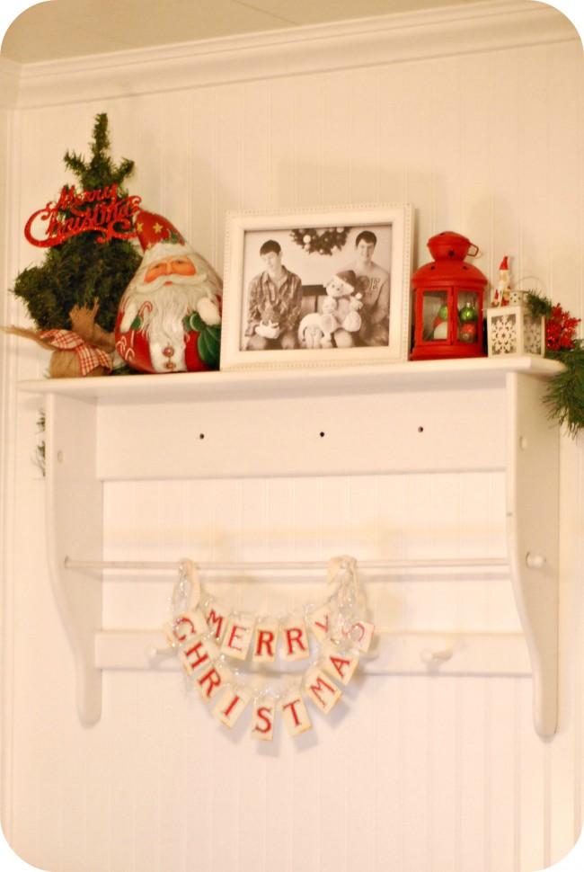 Merry Christmas Shelf