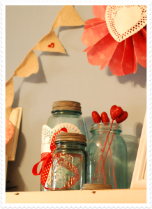 Love Is In The Air…Valentine's Day Decorations and a Quick Craft!