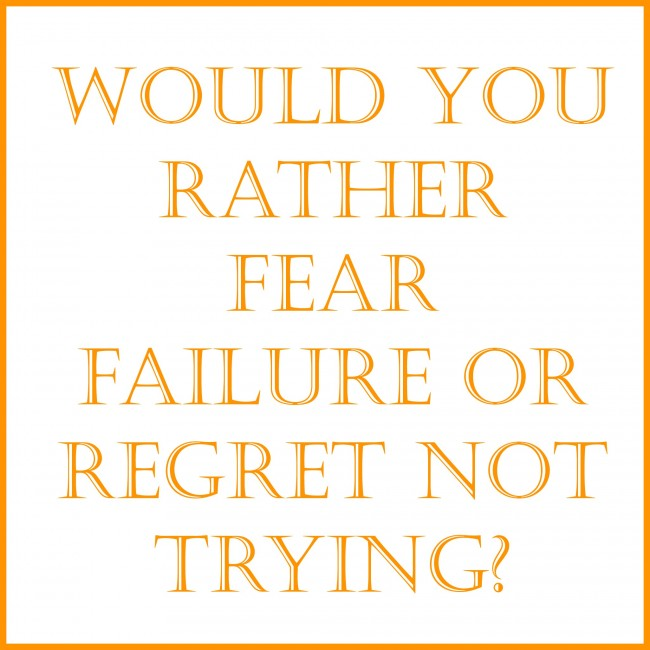 30-Day Blog Challenge:  Day 21--What Are You Afraid Of?
