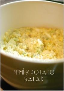 Mimi's Potato Salad (Well Almost…)