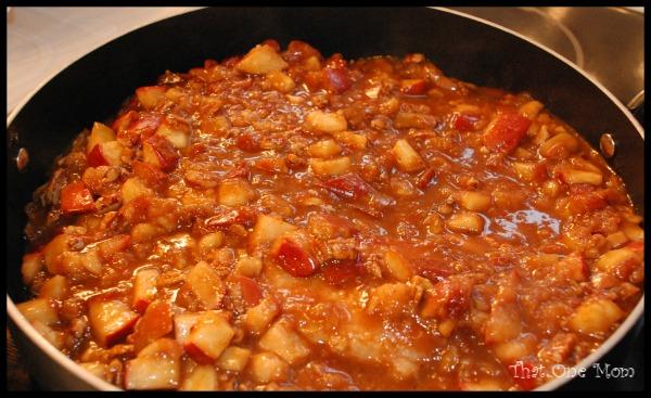 Apple Pecan Pork Loin