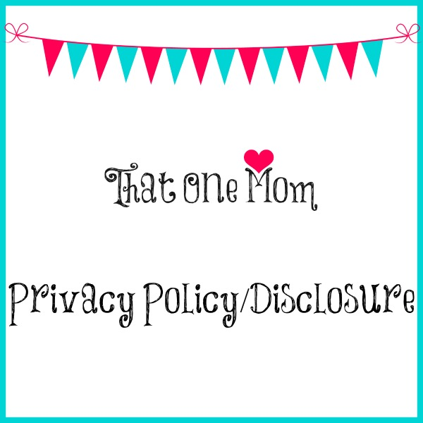 Privacy Policy/Disclosure