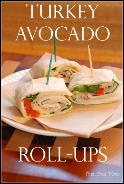 Turkey Avocado Roll-Ups