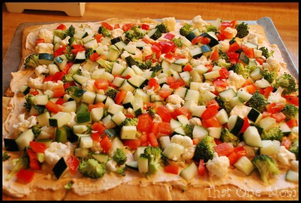 Spicy Veggie Pizza