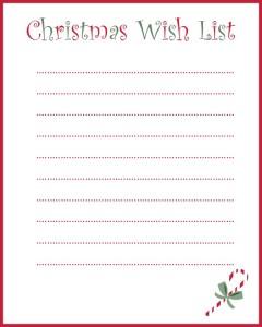 My Grown-Up Christmas Wish List (And A Free Printable)!