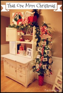 We Need a Little Christmas:  2014 Hallway Decor