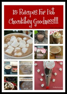 15 Recipes For Hot Chocolatey Goodness!!!