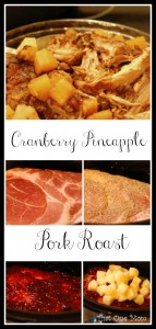 Cranberry Pineapple Pork Roast