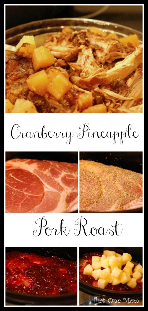 Cranberry Pineapple Pork Roast *www.thatonemom.com*