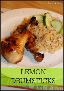 Lemon Drumsticks