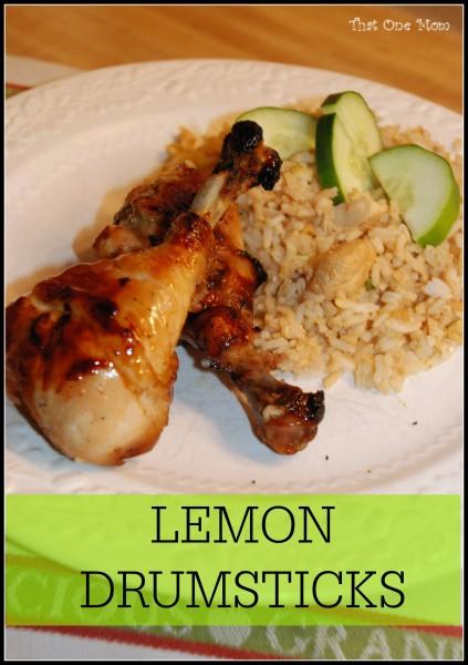 Lemon Drumsticks *www.thatonemom.com*