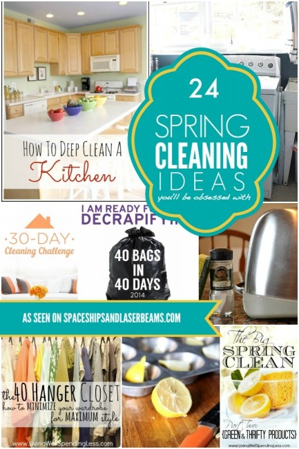 Spaceships and Laserbeams  spring-cleaning-ideas