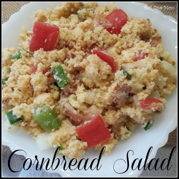 Sort-of-like-Momma's Cornbread Salad! www.thatonemom.com