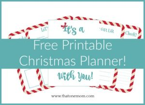 Free Christmas Printable Pack!!