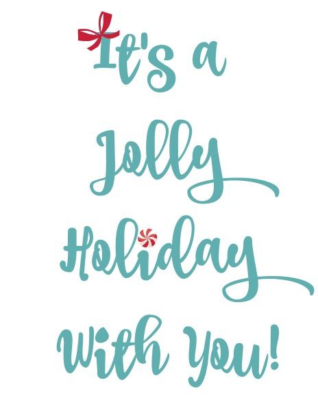 Jolly Holiday Printable www.thatonemom.com