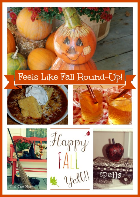 Feels Like Fall (Round-Up of Recipes, Ideas, and Decorations!) www.thatonemom.com