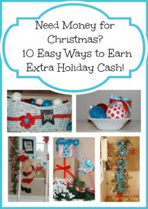Need Money for Christmas?  10 Easy Ways to Earn Extra Holiday Cash!