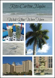 Puttin' on the Ritz-Carlton…in Naples, Florida!