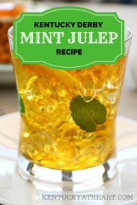 Mint Julep from Kentucky at Heart