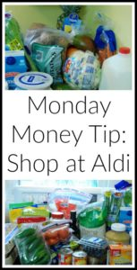 Monday Money Tip:  Shop at Aldi
