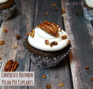chocolate-bourbon-pecan-pie-cupcakes-from the tiptoe fair
