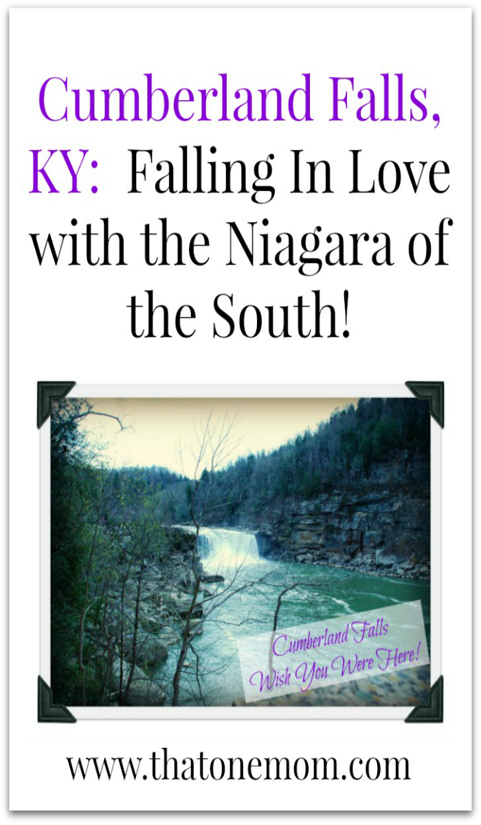 Cumberland Falls, KY: Fallings In Love with the Niagara of the South! www.thatonemom.com