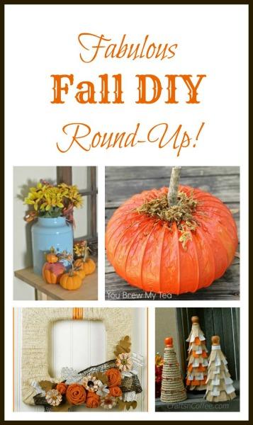 Fabulous Fall DIY Round Up www.thatonemom.com