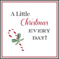 A Little Christmas Every Day www.thatonemom.com