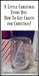 How To Get Crafty for Christmas!