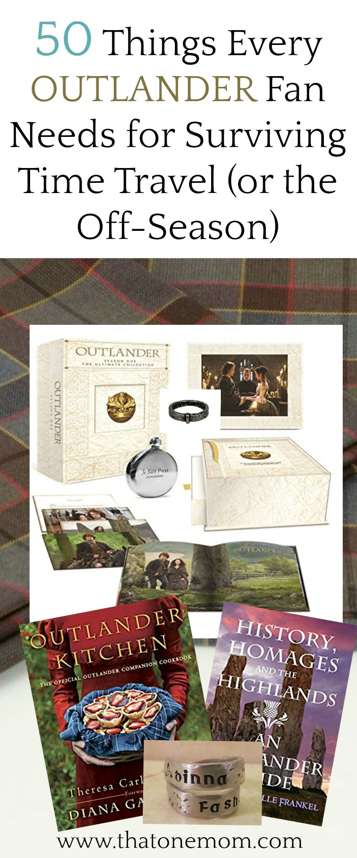 50 Things Every Outlander Fan Needs For Surviving Time Travel or the Off-Season