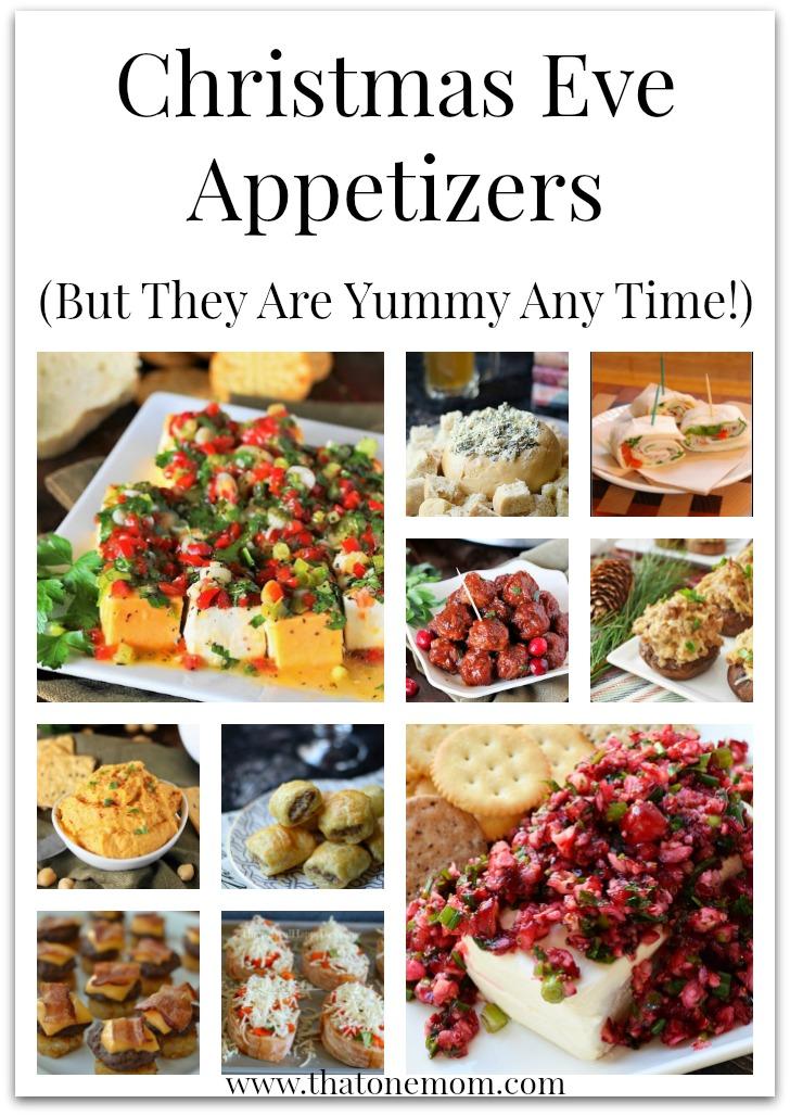 Christmas Eve Appetizers www.thatonemom.com