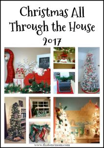 Christmas All Through the House 2017 www.thatonemom.com