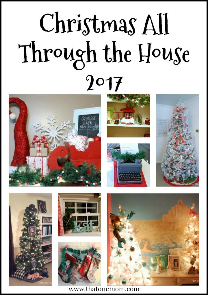 Christmas All Through the House 2017 www.thatonemom.com
