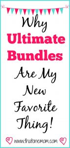 Why Ultimate Bundles Are My New Favorite Thing