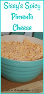 Sissy's Spicy Pimento Cheese